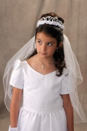 First Communion Veil-Dianna